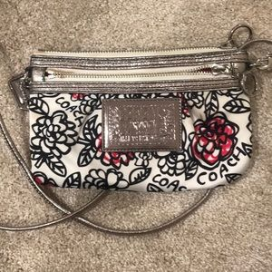Poppy Coach Crossbody Bag